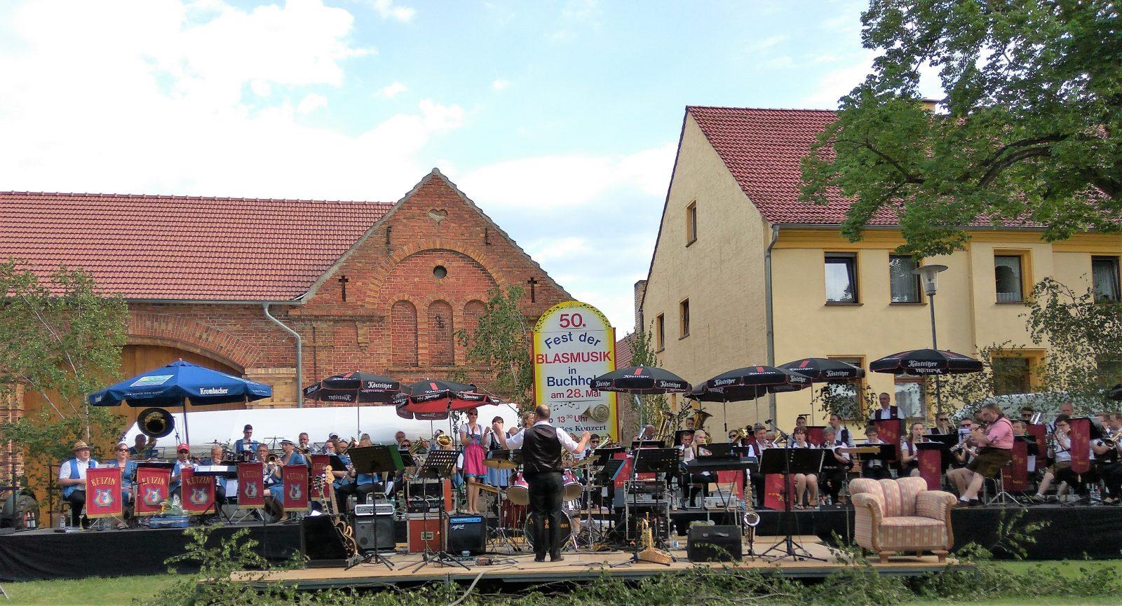 Fest der Blasmusik in Buchholz b. Beelitz 2017