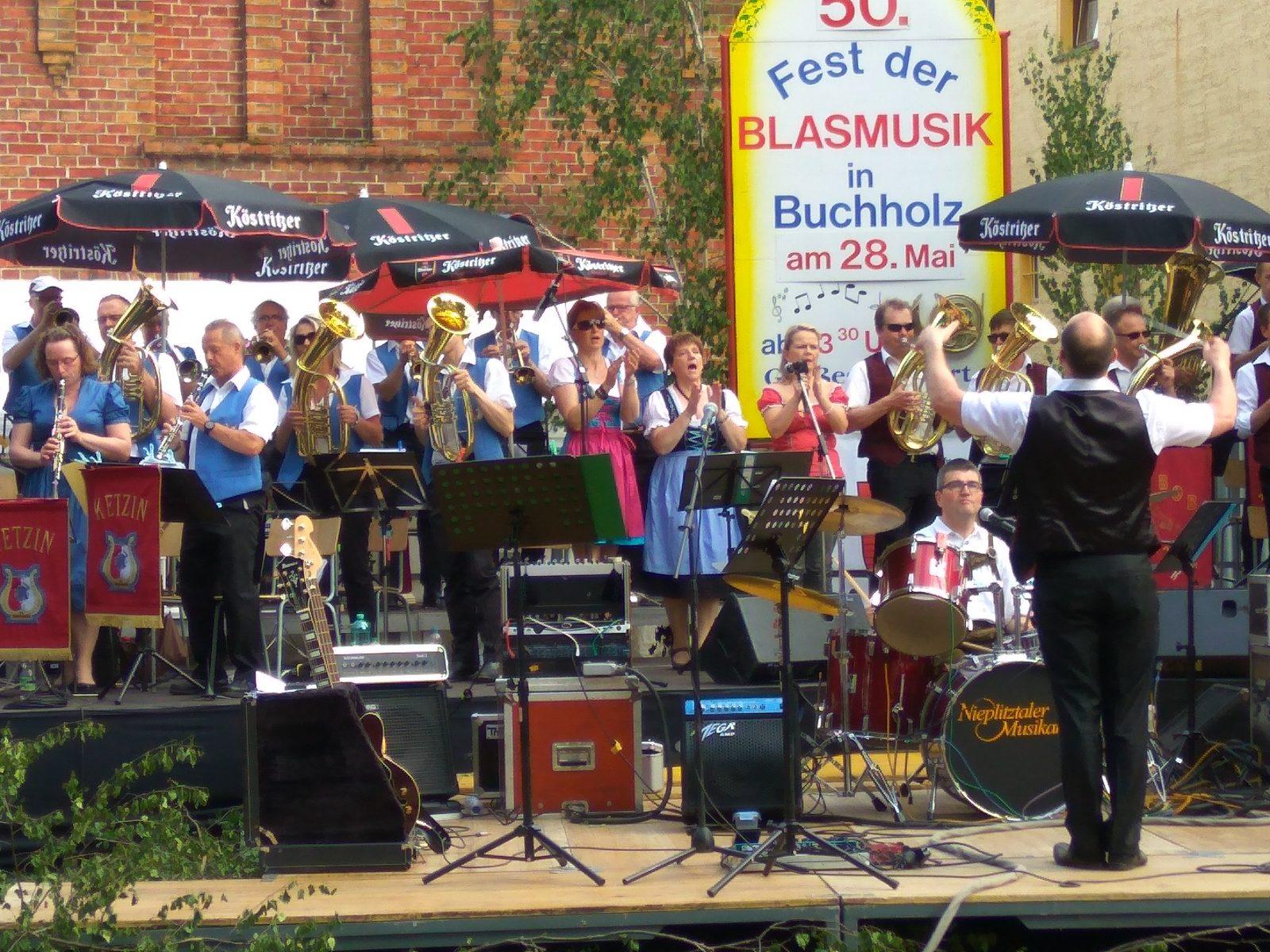 Großes Finale beim Blasmusikfest in Buchholz 28.05.2017