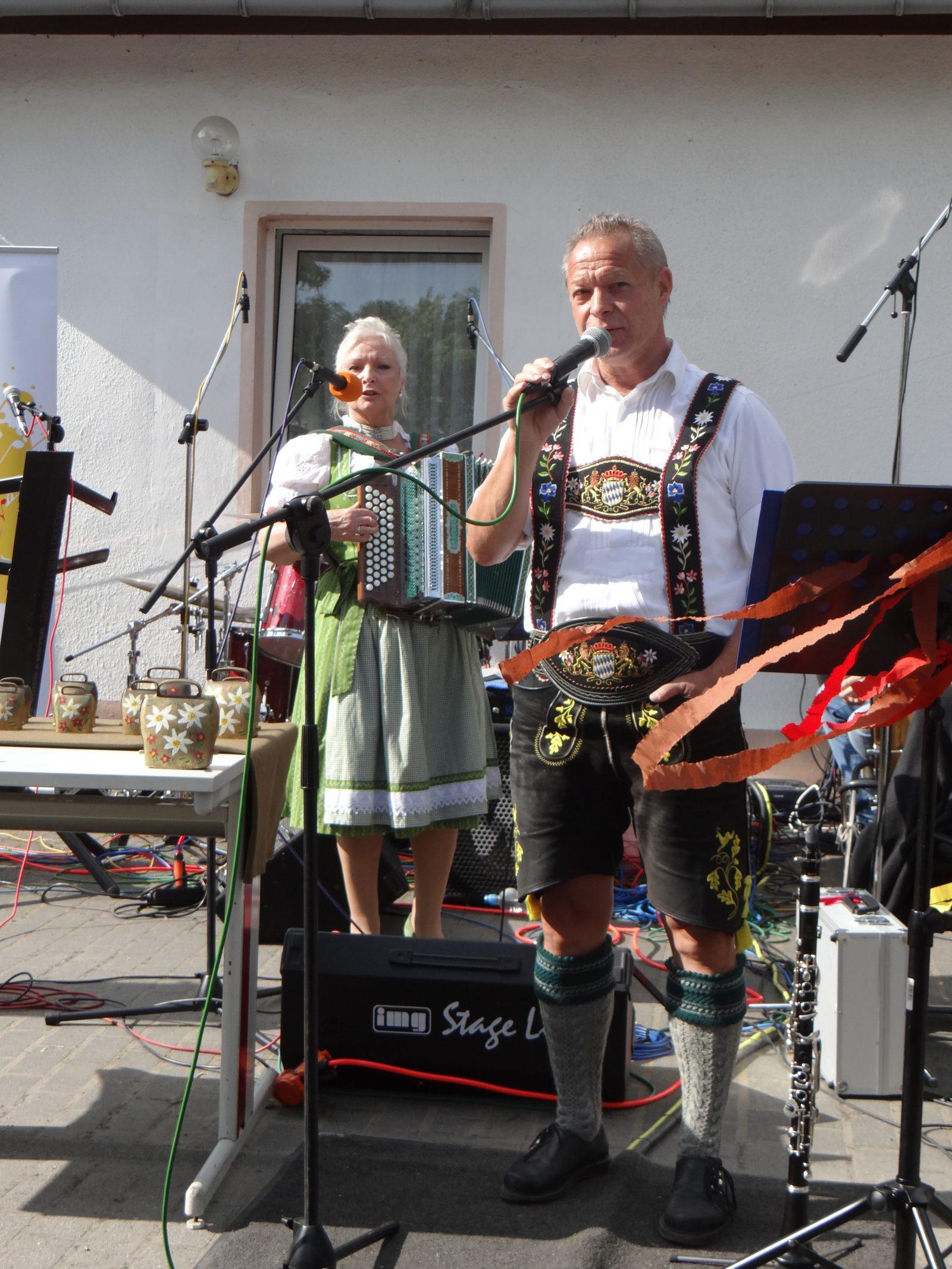 Himmelfahrt 2017 - Bayerische Musik in Brandenburg mit Moni und Felix